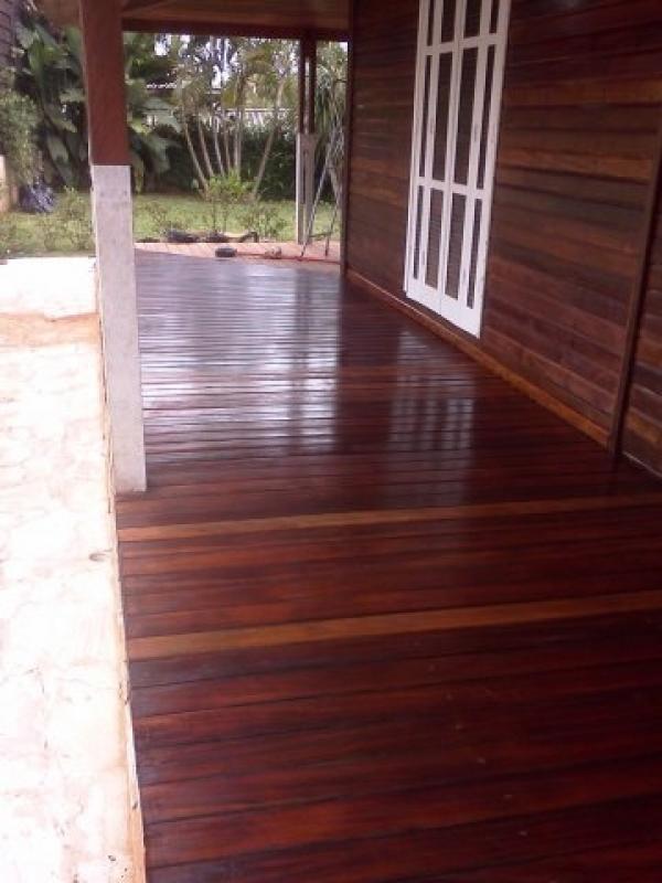 Raspagem de Deck de Madeira em São Paulo