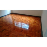aplicação de bona em piso de madeira sob medida Morro Grande