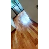 revitalização de piso de madeira