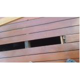 empresa de instalação de deck de madeira Pedreira