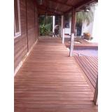 empresa de reforma em deck de madeira na Bonsucesso
