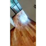 empresa de revitalização de piso de madeira Macedo