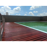 empresa para restauração de deck em madeira Vila Argentina