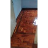 empresa para restauração de tacos de madeira Parque Alexandre