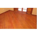 instalação madeira piso