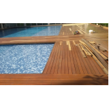 instalações de deck em madeira Jardim Tupanci