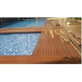 instalações de madeira deck Invernada