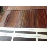 manutenções em deck de madeira no Tamboré