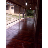 onde encontrar raspagem em deck de madeira na Arco-Verde
