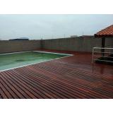onde encontrar restauração de deck de madeira ao redor da piscina Morro do Macaco