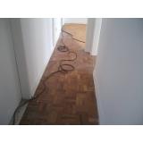 orçamento para raspagens de taco de madeira Condomínio Veigas