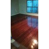 piso de madeira para quarto Vila Romana