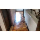 piso taco de madeira