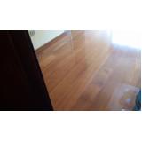 piso de madeira restauração cotação de CECAP