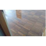 piso de madeira restauração valor CECAP
