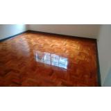 piso taco de madeira para apartamento valor Água Azul