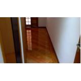 piso taco de madeira valor CECAP