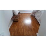 piso taco madeira restauração cotação de Jardim Aracília