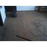 quanto custa  serviço de raspagem de piso de taco de madeira Cotia