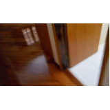 piso de taco madeira