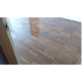 raspagem de piso madeira valor Água Azul
