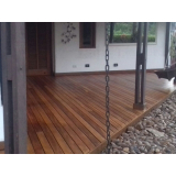 restauração de deck de madeira para parede valor Vila Jataí