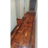restauração de tacos de madeira Morro Grande
