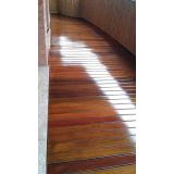 restauração de deck em madeira
