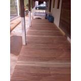 restaurações de deck de madeira na Vila Barros