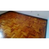 restaurar tacos de madeira valor Morro Grande