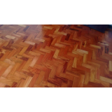 serviço de piso de taco madeira Santana