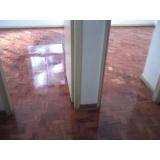 serviços de raspagem de piso de taco de madeira no Parque São George