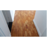 Valor de piso taco madeira restauração CECAP