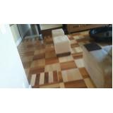Valor de recuperar piso taco de madeira Centro
